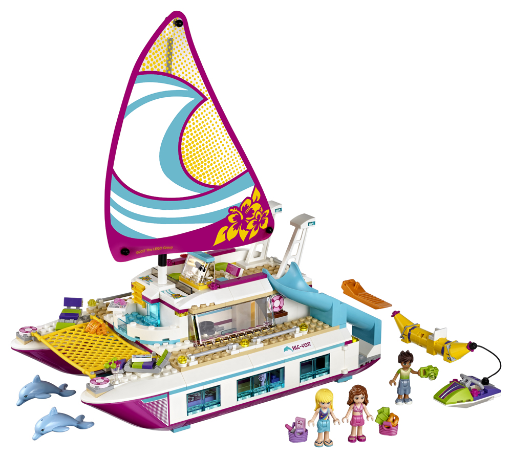41317 LEGO Friends Croaziera insorita pe Catamaran
