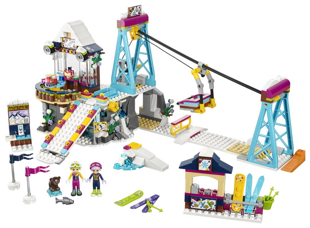 41324 LEGO Friends Schiliftul staiunii de iarn