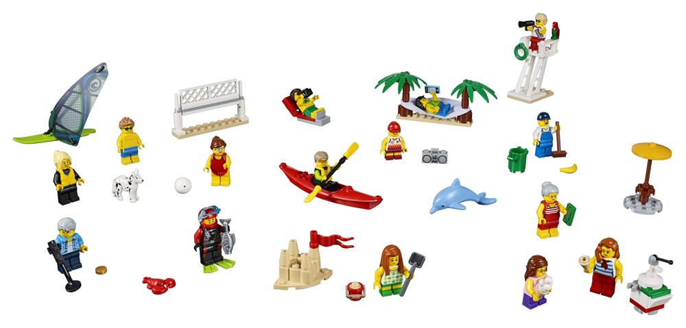 60153 LEGO City Comunitatea oraului  Distracie la plaj