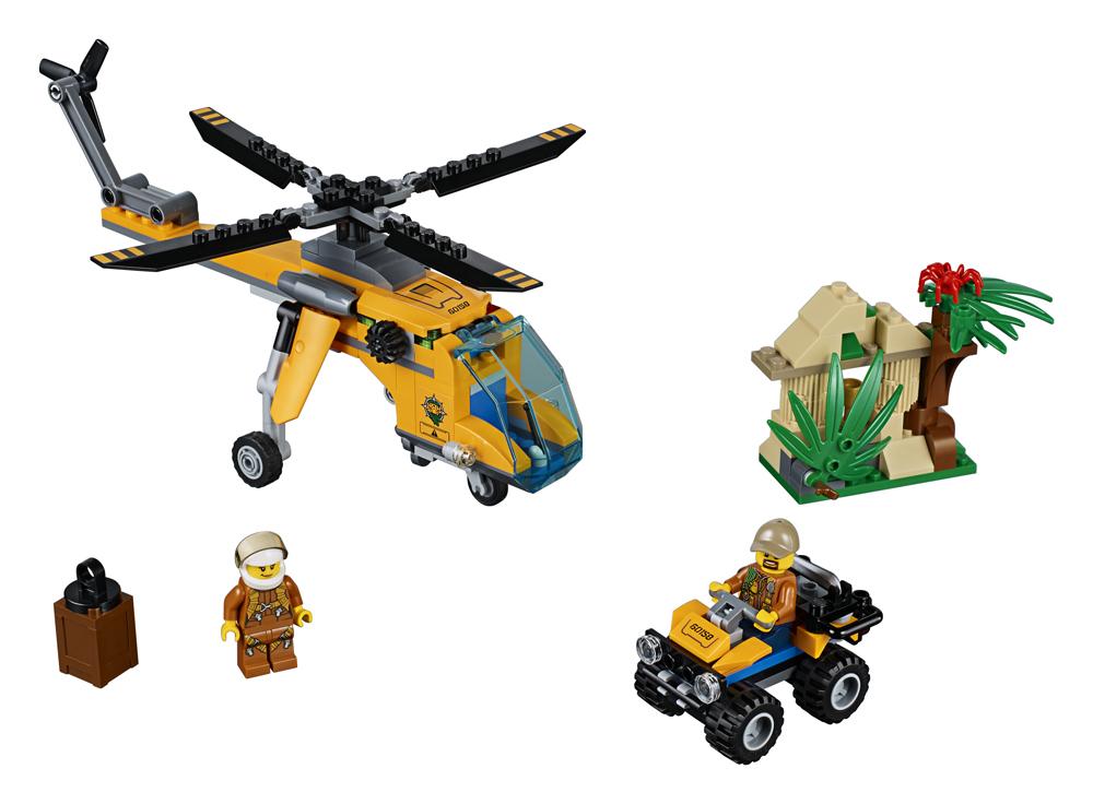 60158 LEGO City Elicopter de marf n jungl