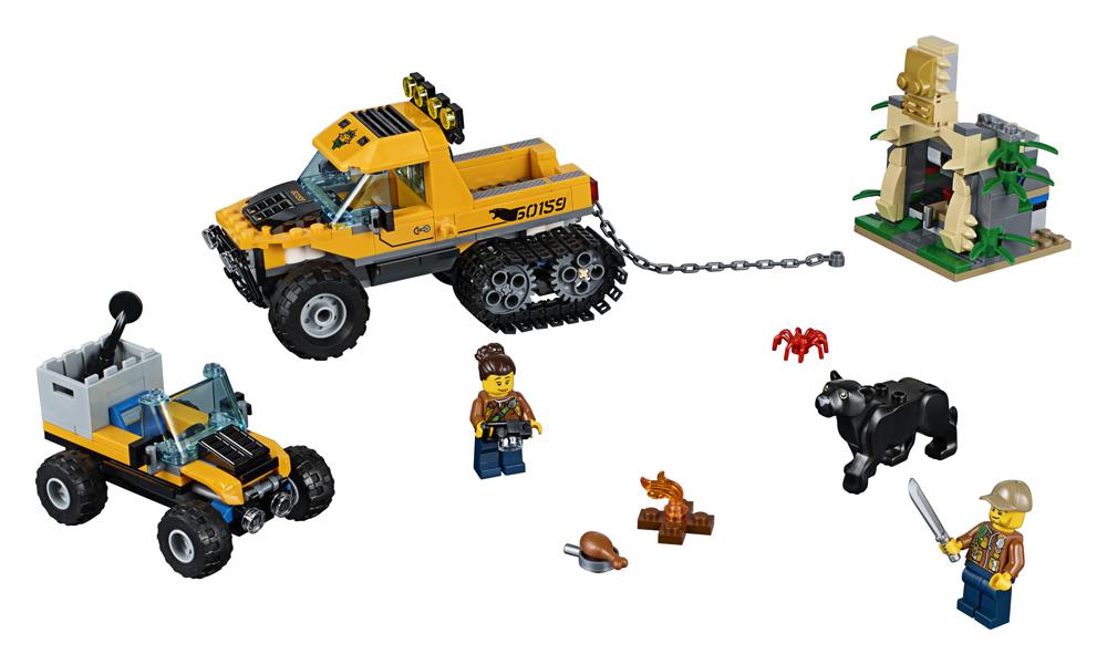 60159 LEGO City Misiune in jungla cu autoblindata