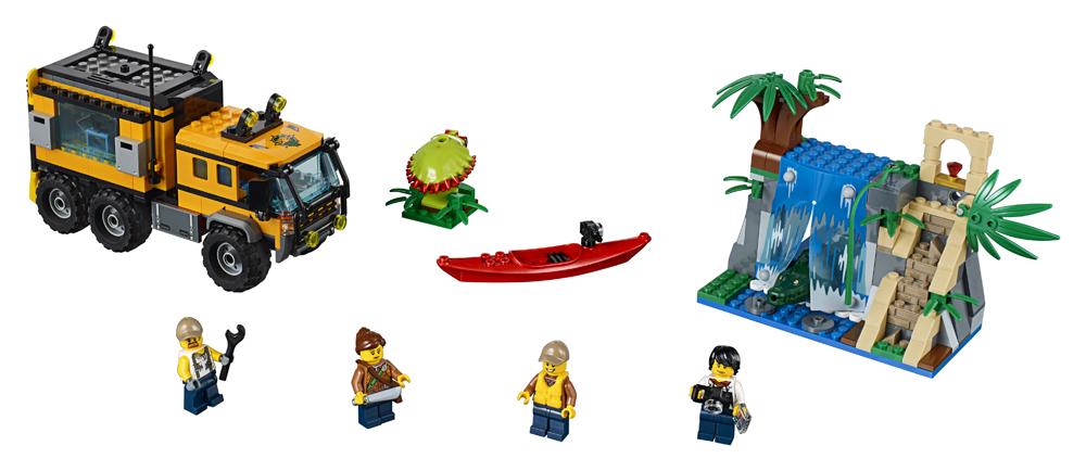 60160 LEGO City Laboratorul mobil din jungl