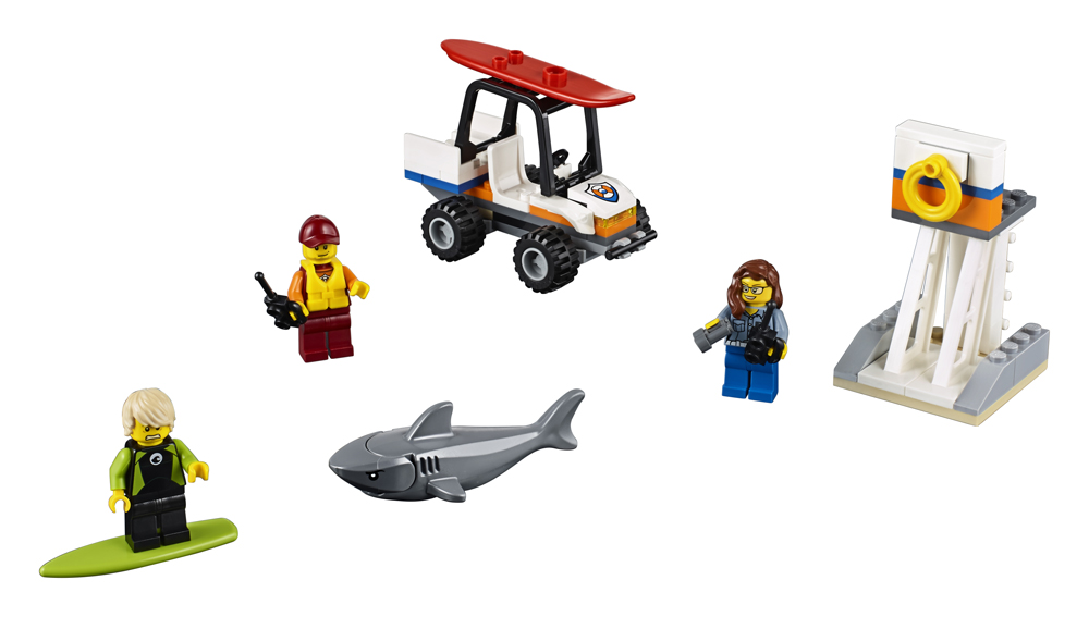 60163 LEGO City Set pentru nceptori Garda de coast