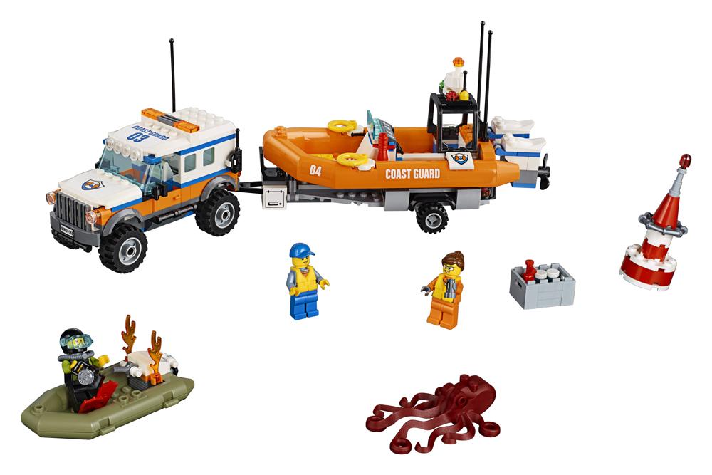 60165 LEGO City Unitatea de intervenie 4 x 4