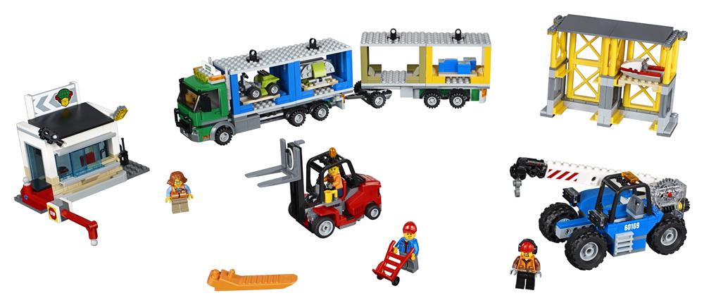 60169 LEGO City Terminal de marf