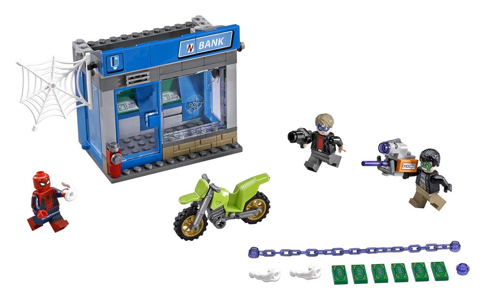 76082 LEGO Super Heroes Jaful bancomatului