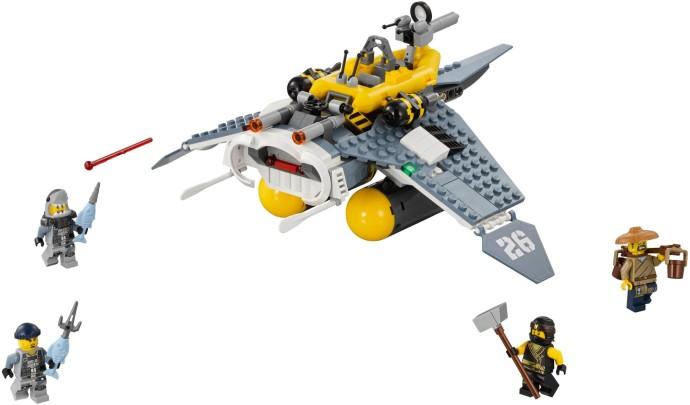 LEGO NINJAGO - Bombardier Diavol de Mare - L70609