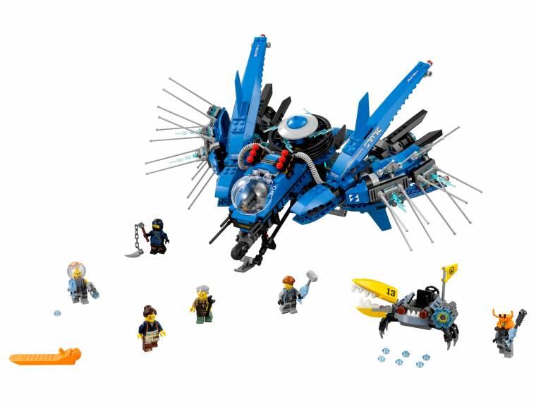 LEGO NINJAGO - Avion de reactie - L70614