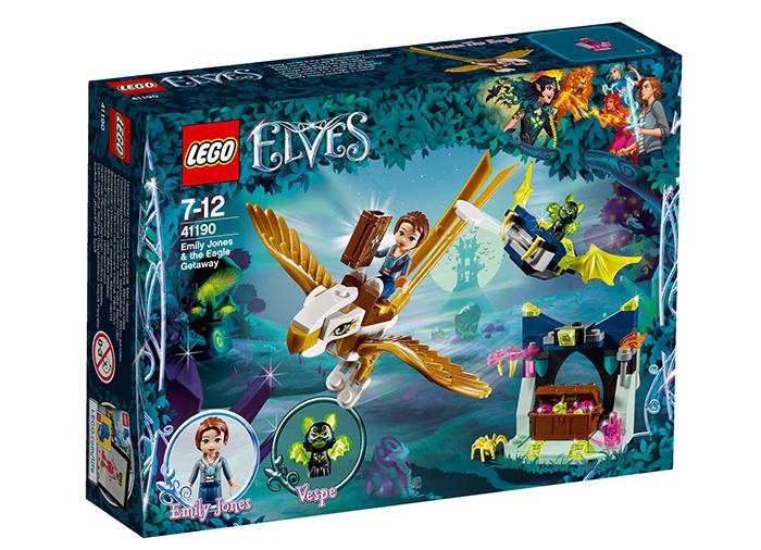 Emily Jones i evadarea vulturului - L41190