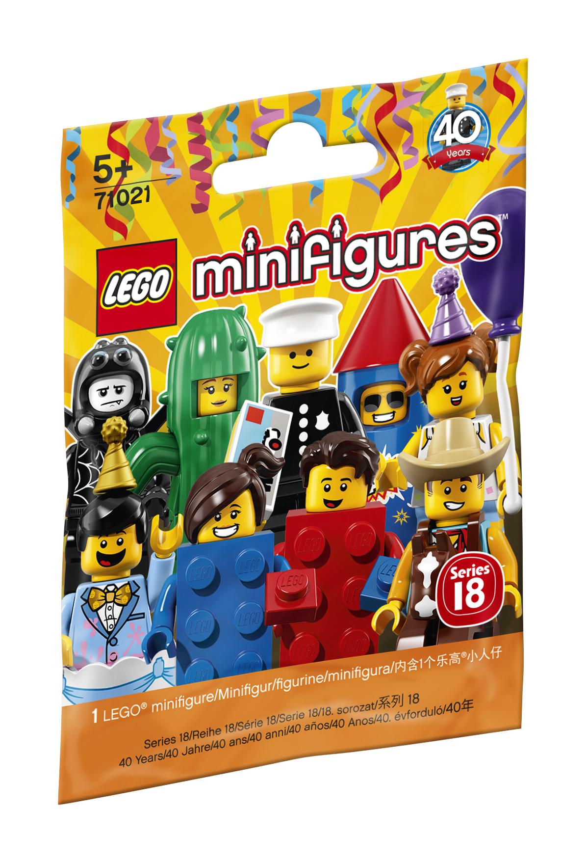 Minifigurine LEGO - Seria 18 Petrecere - L71021