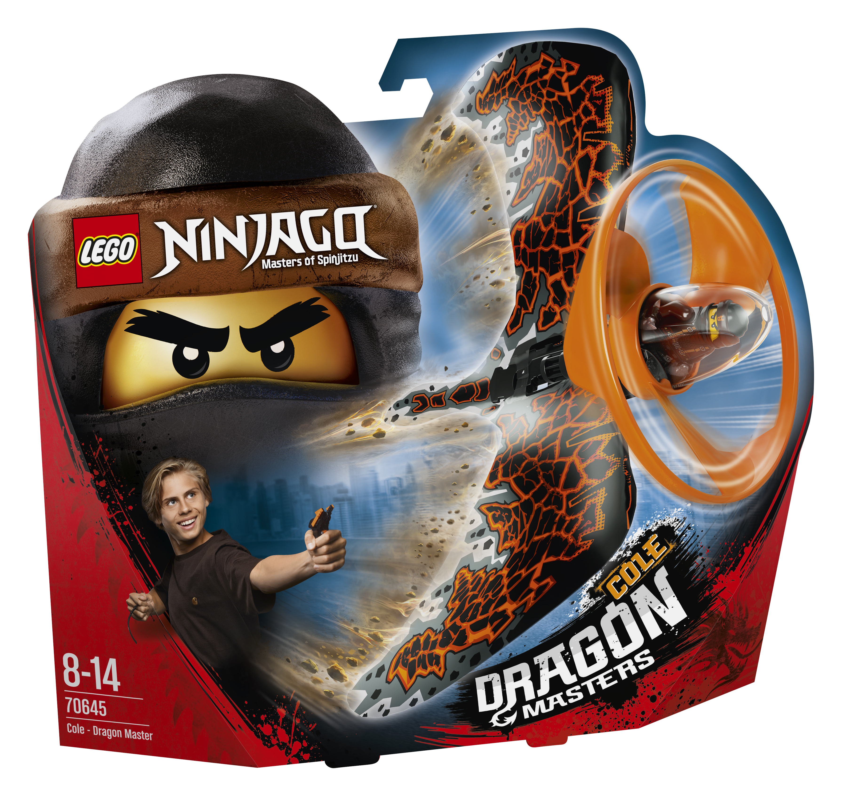 Lego Cole Dragonjitzu - L70645