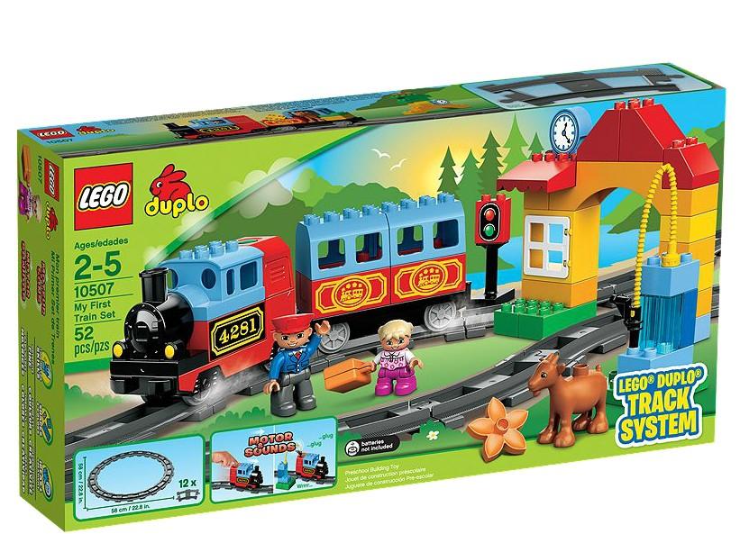 LEGO DUPLO Primul meu set de trenuri - L10507