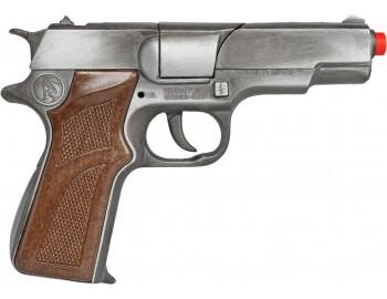 Pistol Politie Gonher Old Silver - GH1251