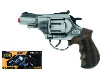 Revolver Politie Gonher Old Silver - 381