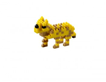 Leopard. Set Constructie 3D Micro Cub - 200.014