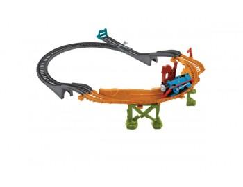 Set de sine cu locomotiva Breakaway Bridge - CDB59