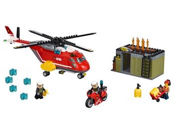 LEGO® City Unitatea de interventie de pompieri - 60108