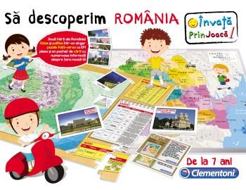 Joc educativ - Sa Descoperim Romania - 60439