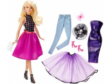 Papusa Barbie Mattel BRB Fashion Mixn Match Doll Blonda DJW57-DJW58