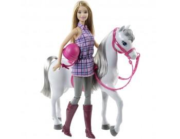 Papusa Barbie Cu Calut Mattel BRB Horse And Doll DHB68