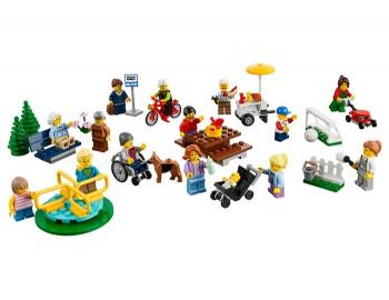 LEGO - City Town - Distractie in parc - Oamenii orasului - 60134