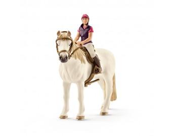 Figurine Schleich - Calaret de agrement cu cal - 42359