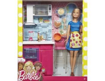 Set Barbie - Set de bucatarie - DVX51-DVX54