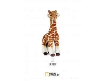 Jucarie Plus Venturelli - National Geographic Girafa 35 cm - AV770718