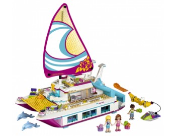 41317 LEGO® Friends Croaziera insorita pe Catamaran