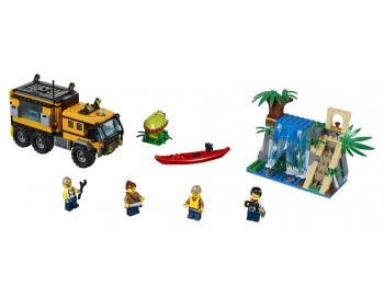 60160 LEGO® City Laboratorul mobil din junglă