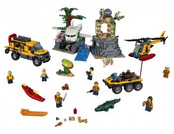 60161 LEGO® City Amplasamentul de explorare din junglă