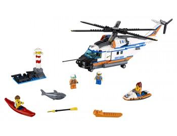 60166 LEGO® City Elicopter de salvare pentru condiții grele