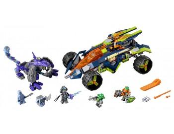 70355 LEGO® Nexo Knights Cățărătorul lui Aaron
