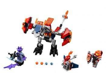 70361 LEGO Nexo Knights Dragonul arunctor de roboi al lui Macy