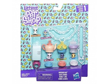 Littlest Pet Shop - Set bratara cu animalute - HBB9345