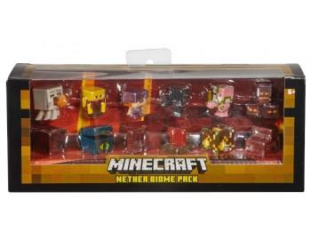 Mattel - Set minifigurine Minecraft - Nether - FFK92