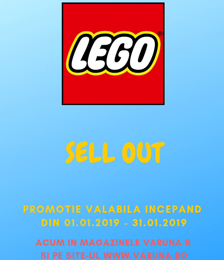 lego sell out
